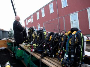 A line of rebreathers!