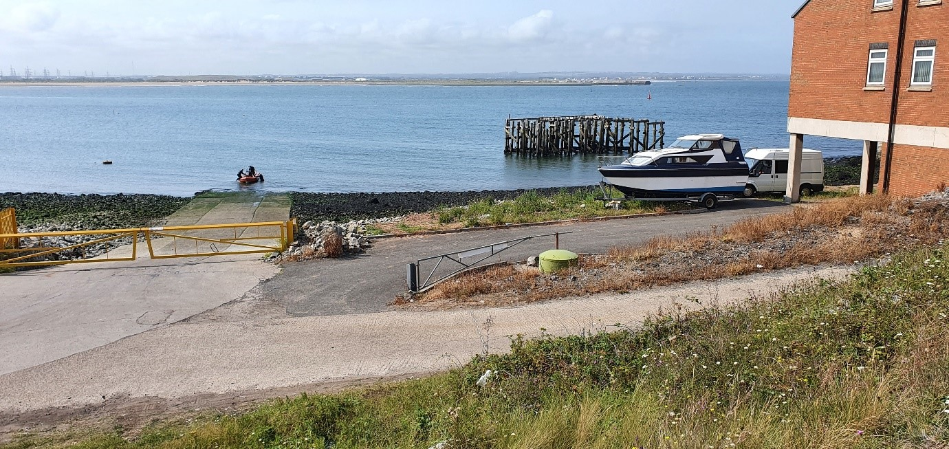 South Gare slipway