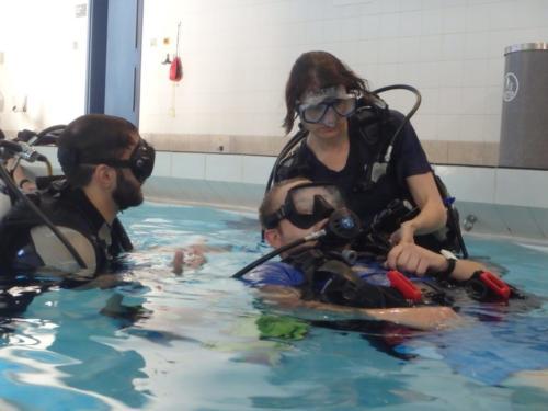 Ocean Diver skills practice