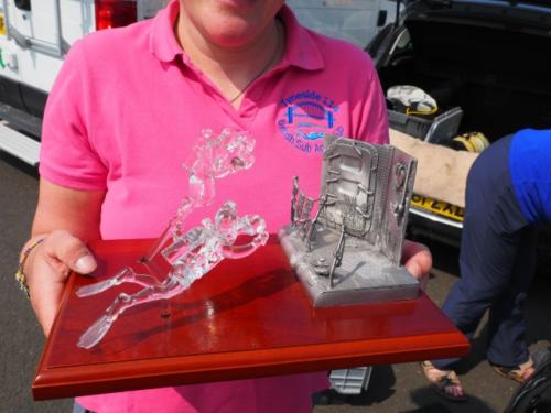 The Wreck Award Trophy - Tynedise winners!