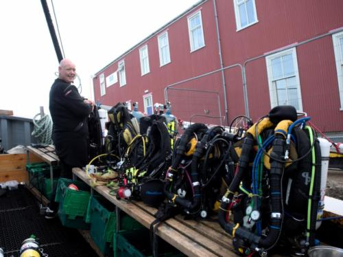 ready for the day: rebreather-tastic!