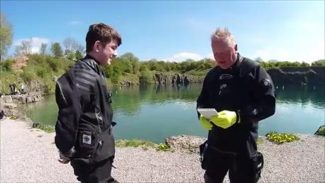 Sports Diver skills at Capernwray